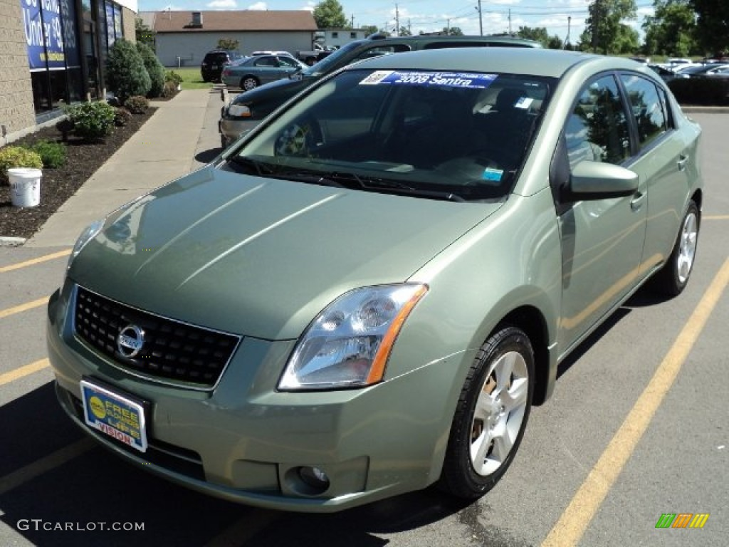 2008 metallic jade green nissan sentra 2 0 s 66557202. Black Bedroom Furniture Sets. Home Design Ideas