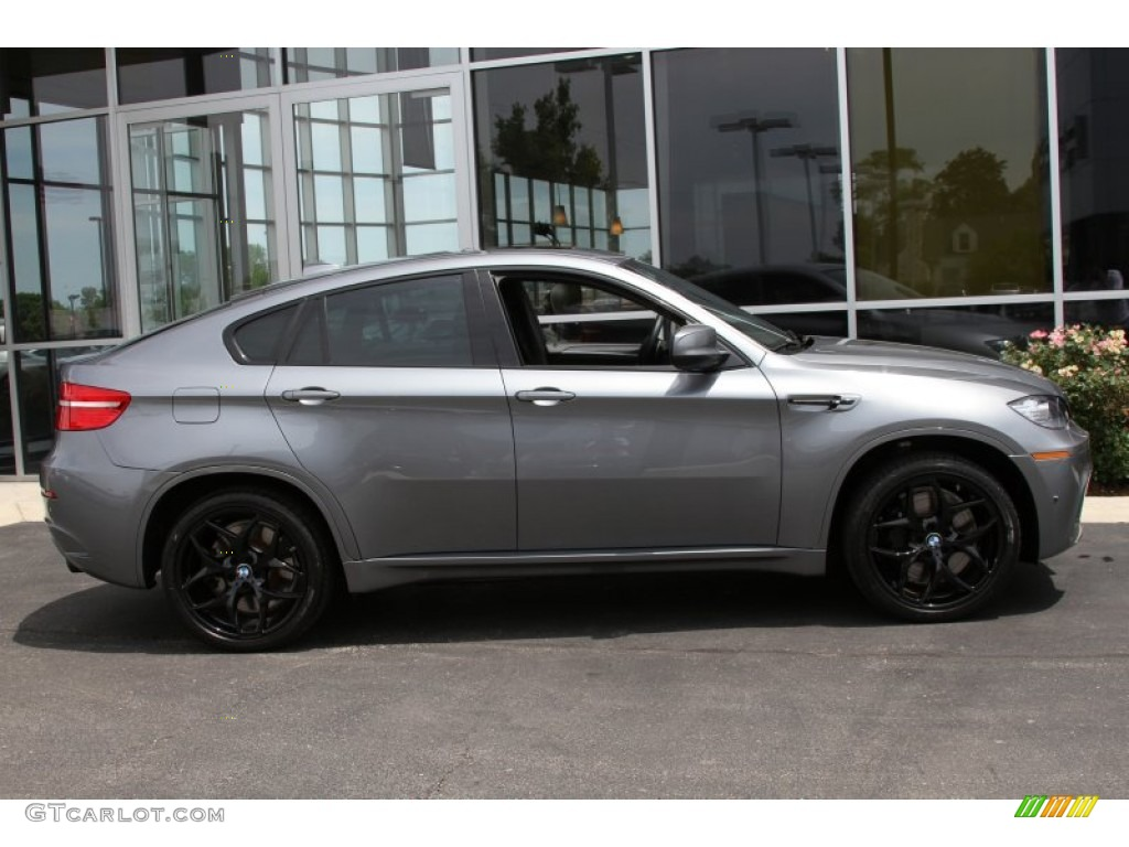 Space Grey Metallic 2012 Bmw X6 M Standard X6 M Model Exterior Photo