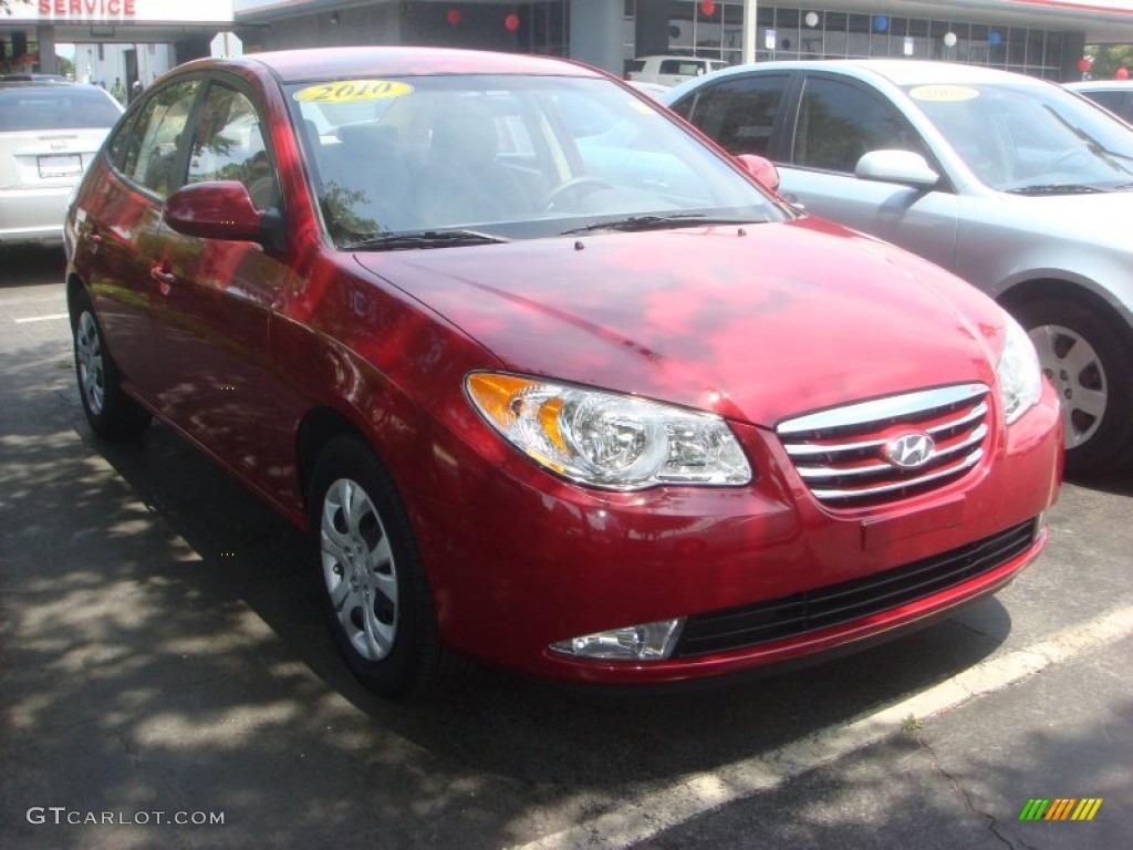 Apple Red Pearl Hyundai Elantra