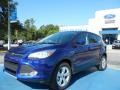 2013 Deep Impact Blue Metallic Ford Escape SE 1.6L EcoBoost  photo #1