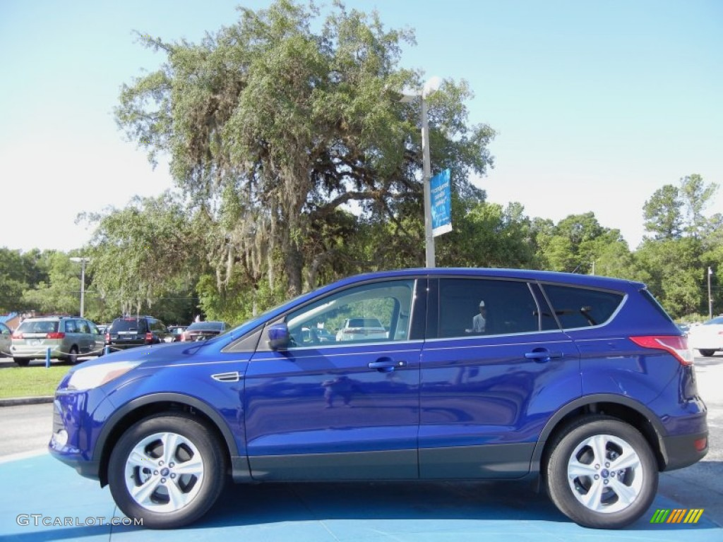 Deep impact blue metallic 2013 ford escape se 1 6l ecoboost exterior photo 66609096