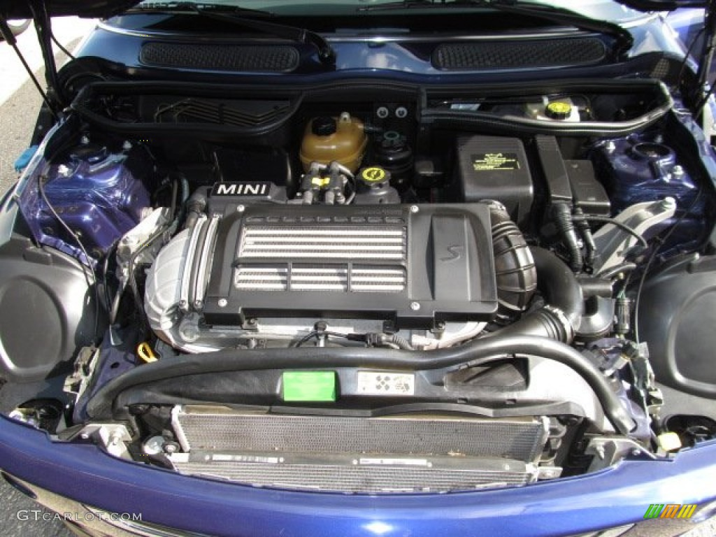2006 Mini Cooper S Hardtop 1 6 Liter Supercharged Sohc 16 Valve 4 Cylinder Engine Photo