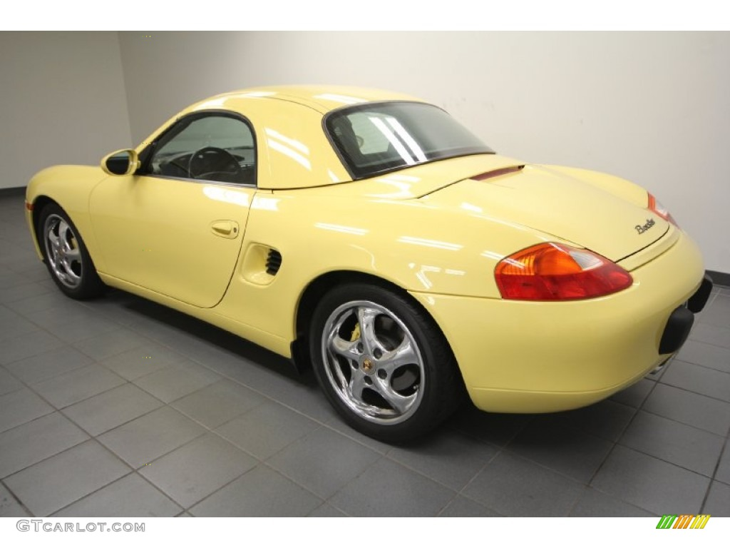 Pastel Yellow 1999 Porsche Boxster Standard Boxster Model