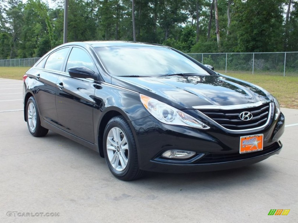 2013 midnight black hyundai sonata gls 66616361. Black Bedroom Furniture Sets. Home Design Ideas