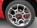 Rosso Brillante (Red) - 500 Sport Photo No. 4