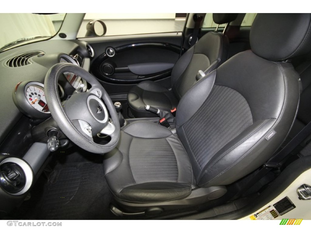 Punch Carbon Black Interior 2008 Mini Cooper S Clubman