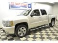 2011 White Diamond Tricoat Chevrolet Silverado 1500 LTZ Crew Cab 4x4  photo #2