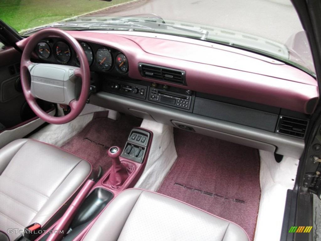 1993 Porsche 911 Carrera 4 Cabriolet Dashboard Photos