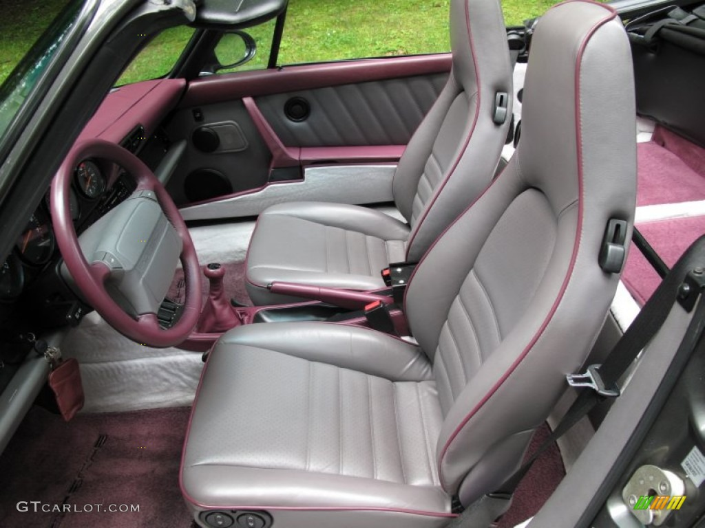 1993 Porsche 911 Carrera 4 Cabriolet Interior Color Photos
