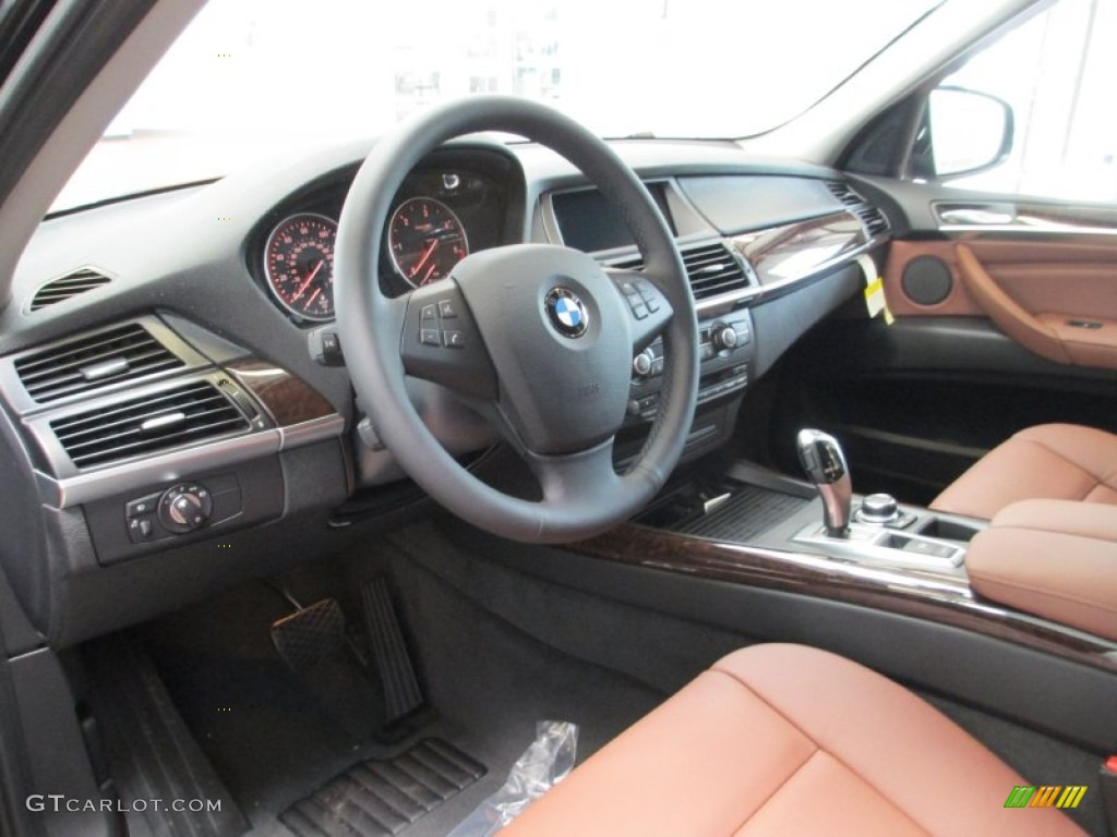 cinnamon brown interior 2012 bmw x5 xdrive35d photo. Black Bedroom Furniture Sets. Home Design Ideas