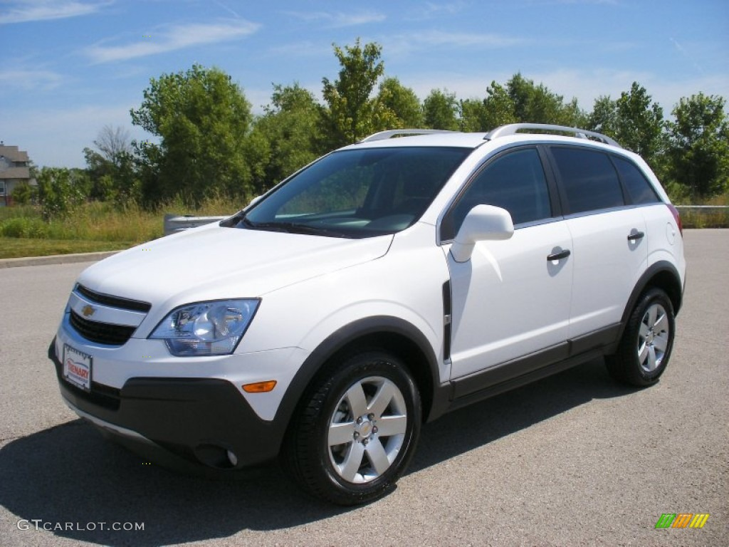 Arctic ice white 2012 chevrolet captiva sport ls exterior photo 66639926