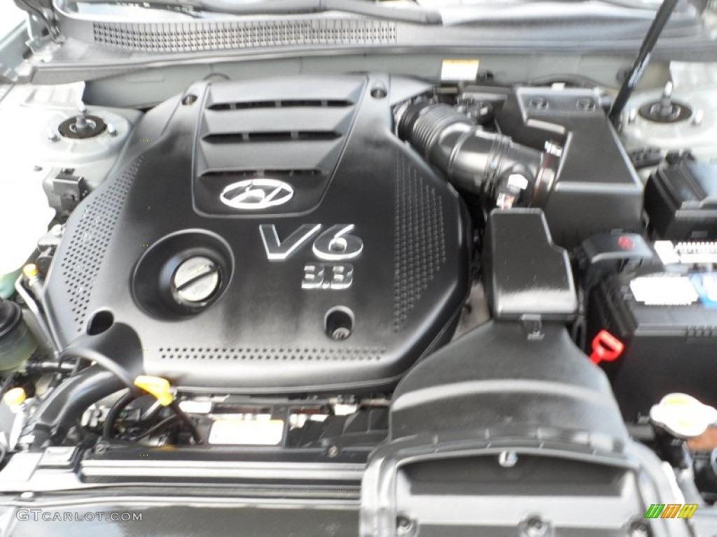 2009 Hyundai Sonata Limited V6 Engine Photos