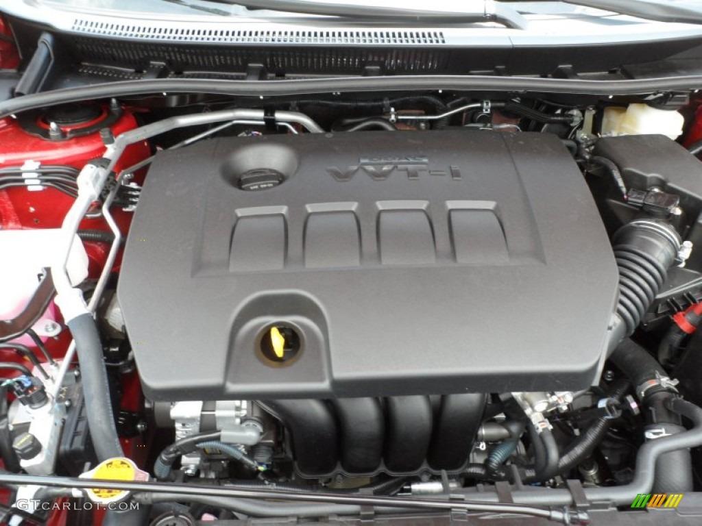 2012 Toyota Corolla S 1 8 Liter Dohc 16