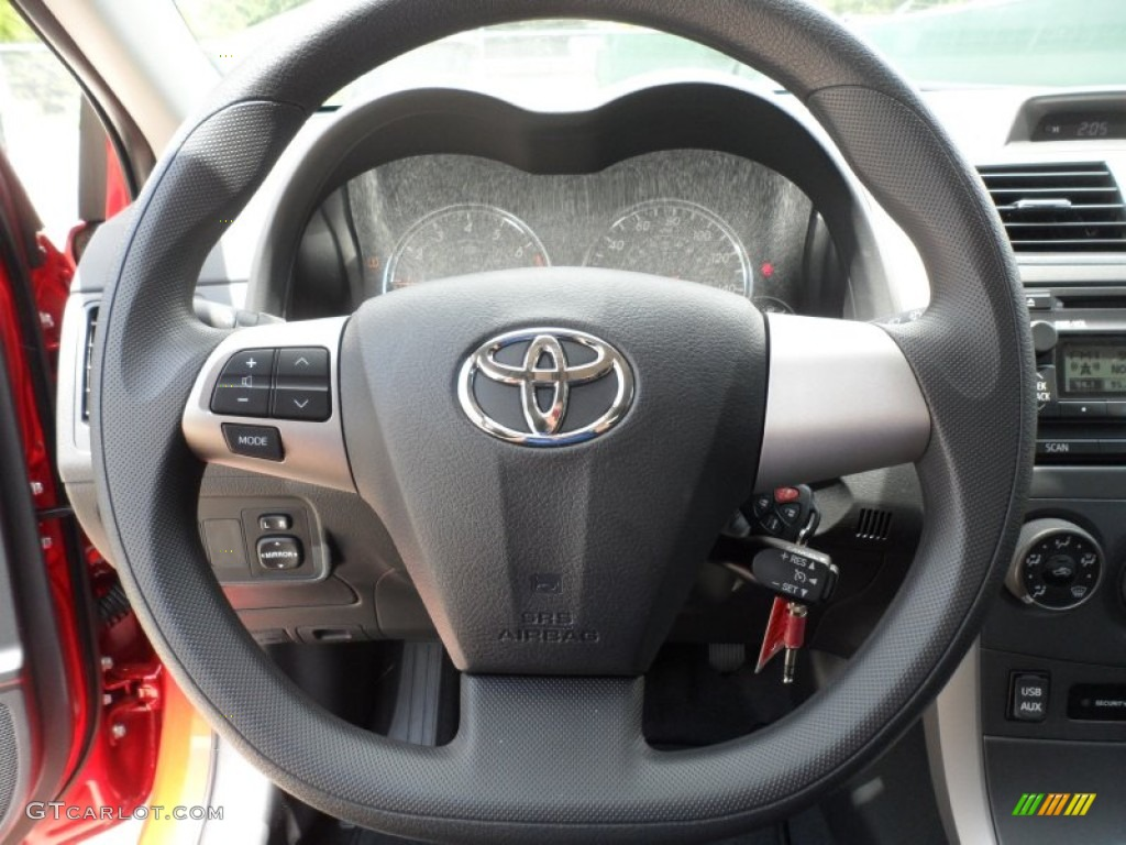 2012 toyota corolla s steering wheel photos. Black Bedroom Furniture Sets. Home Design Ideas