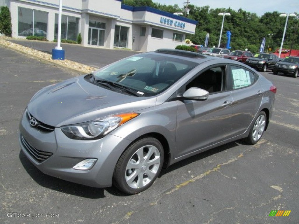 Titanium Gray Metallic 2013 Hyundai Elantra Limited Exterior Photo #66659108 | GTCarLot.com