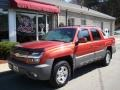 Sunset Orange Metallic 2002 Chevrolet Avalanche Gallery