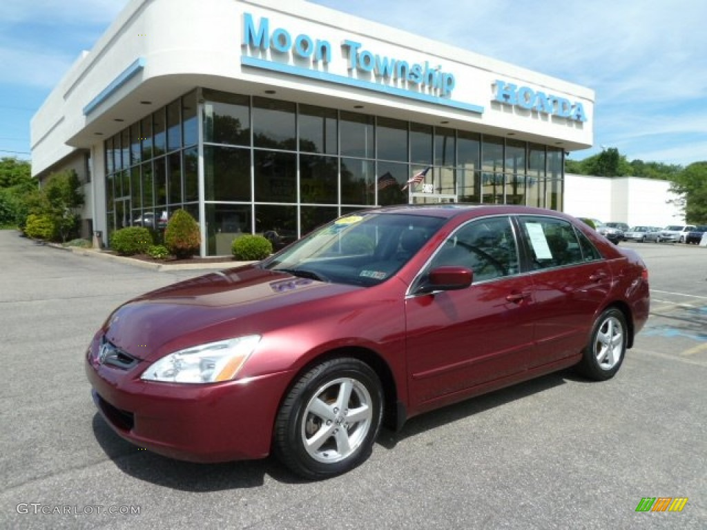 2003 Redondo Red Pearl Honda Accord Ex L Sedan 66615801