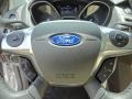 2012 White Platinum Tricoat Metallic Ford Focus SEL Sedan  photo #24