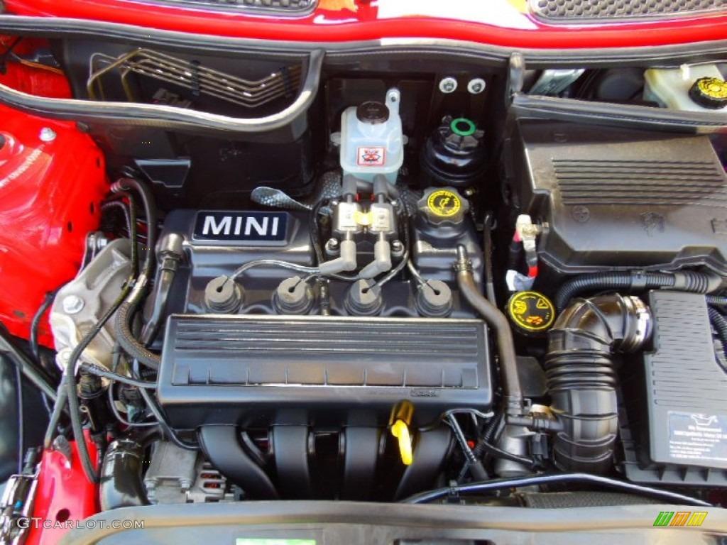 2006 mini cooper convertible 1 6 liter sohc 16 valve 4 cylinder engine photo 66667526. Black Bedroom Furniture Sets. Home Design Ideas
