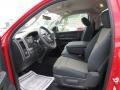 2012 Flame Red Dodge Ram 1500 Express Regular Cab  photo #7
