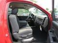 2012 Flame Red Dodge Ram 1500 Express Regular Cab  photo #9