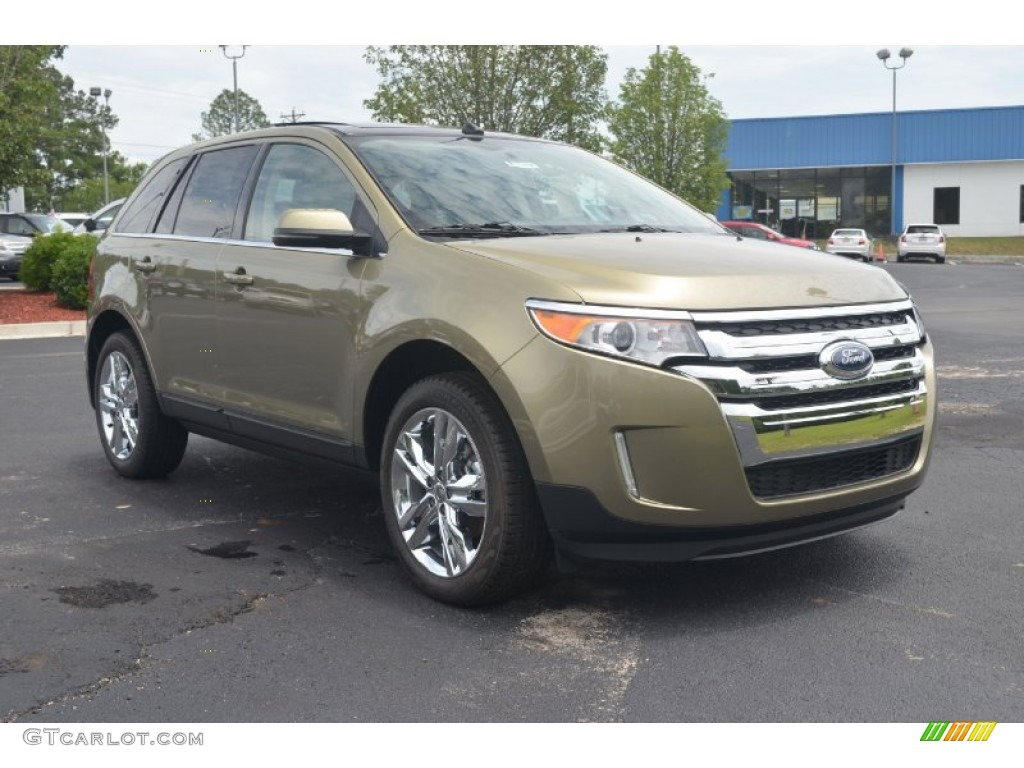 ginger ale metallic 2013 ford edge limited exterior photo 66673529. Black Bedroom Furniture Sets. Home Design Ideas