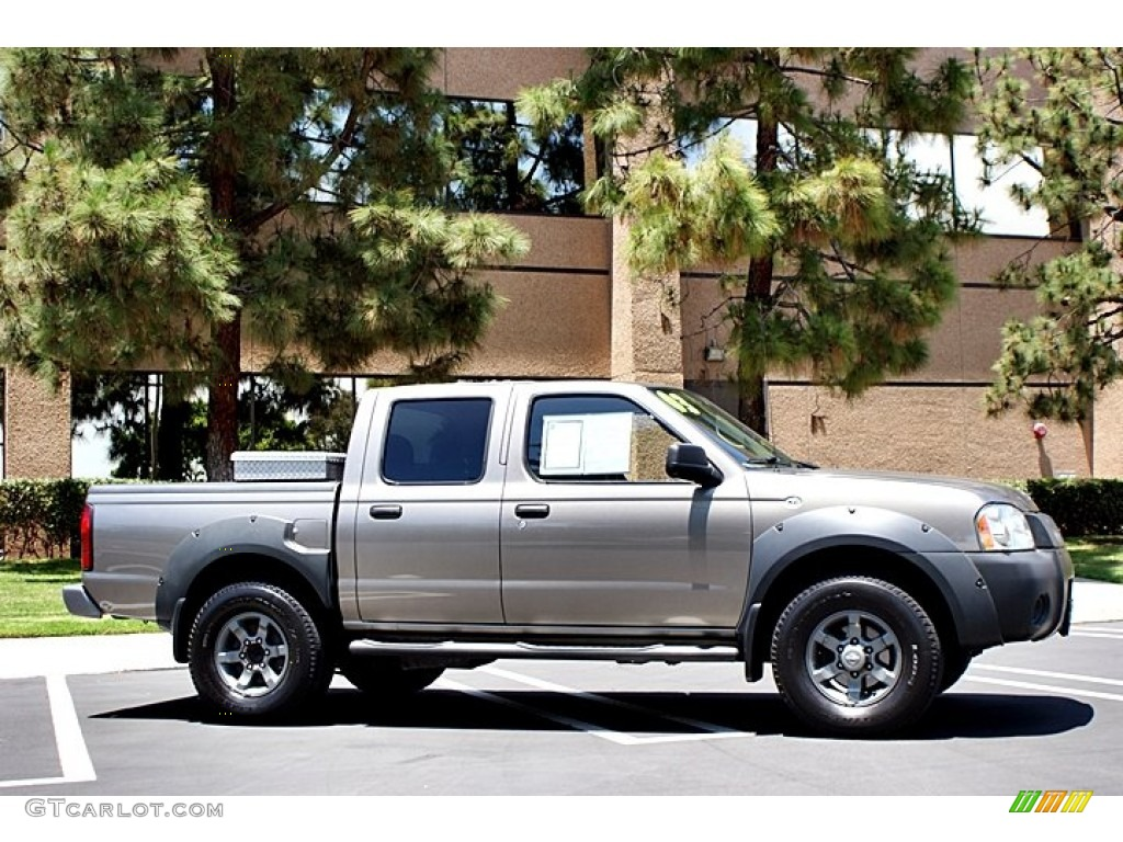 sand dune metallic 2003 nissan frontier xe v6 crew cab exterior photo 66682091. Black Bedroom Furniture Sets. Home Design Ideas