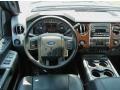 2012 Sterling Grey Metallic Ford F250 Super Duty Lariat Crew Cab  photo #7