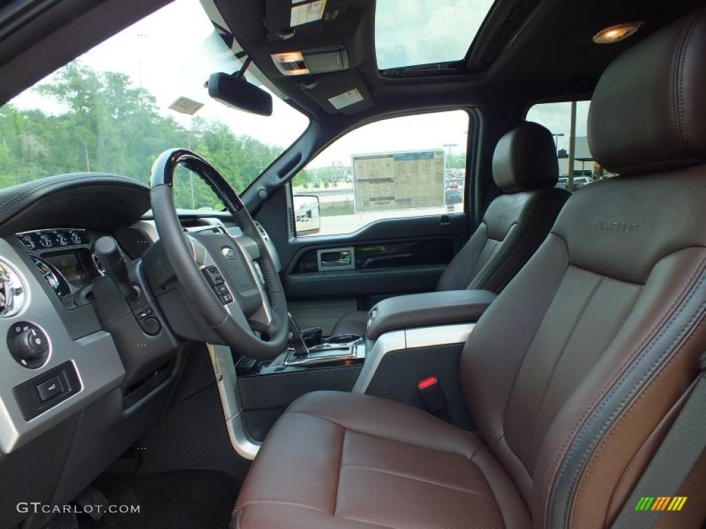 2012 Ford F150 Platinum Supercrew 4x4 Interior Photo