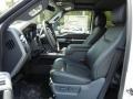 2012 White Platinum Metallic Tri-Coat Ford F250 Super Duty Lariat Crew Cab 4x4  photo #5