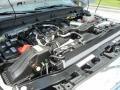 2012 White Platinum Metallic Tri-Coat Ford F250 Super Duty Lariat Crew Cab 4x4  photo #12