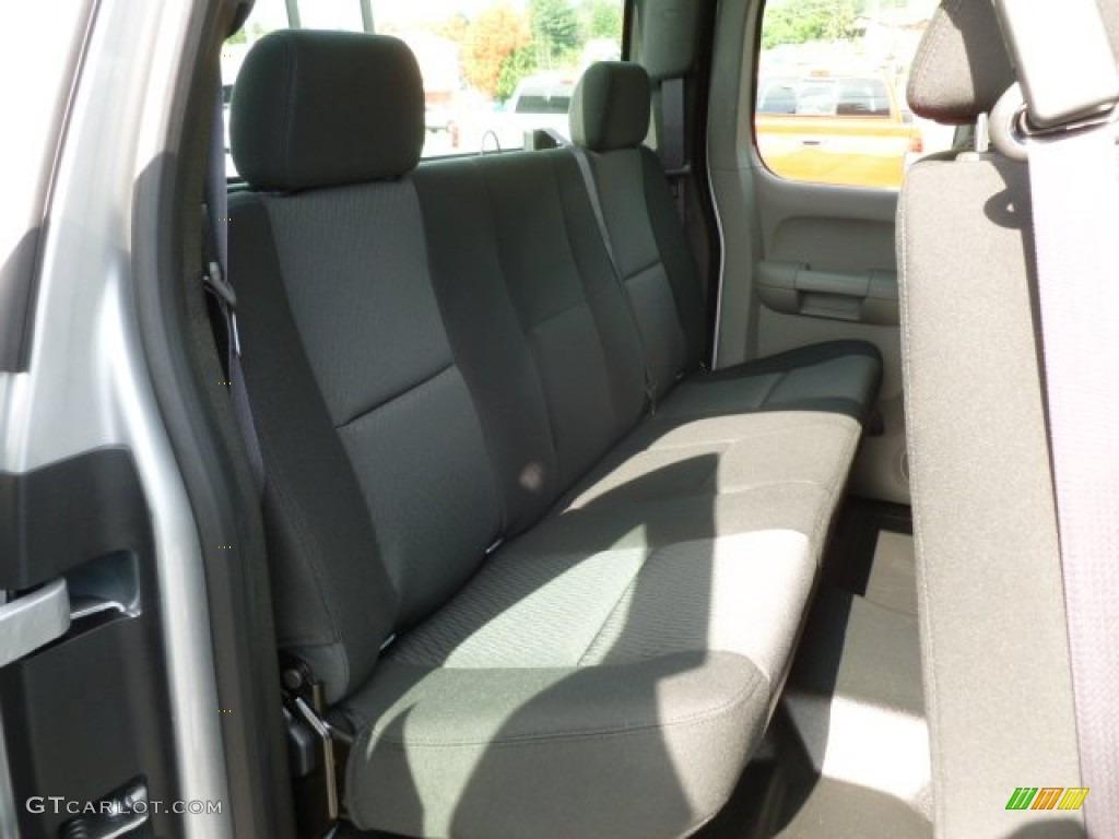 2012 Silverado 1500 Work Truck Extended Cab 4x4 - Silver Ice Metallic / Dark Titanium photo #12