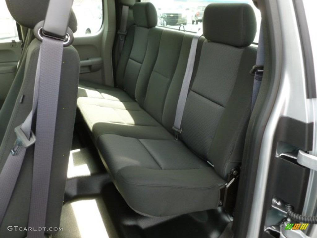 2012 Silverado 1500 Work Truck Extended Cab 4x4 - Silver Ice Metallic / Dark Titanium photo #14