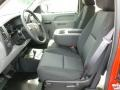 2012 Victory Red Chevrolet Silverado 1500 Work Truck Extended Cab 4x4  photo #16