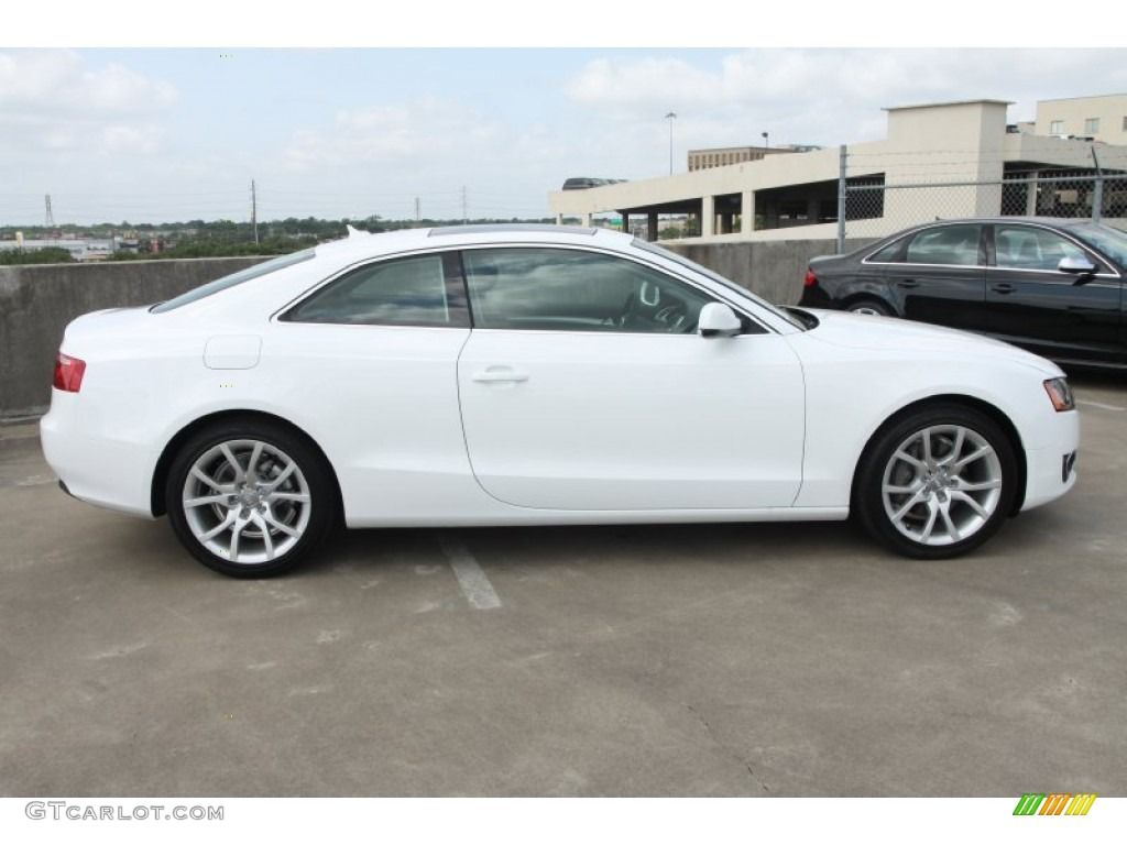 ibis white 2012 audi a5 2 0t quattro coupe exterior photo 66693443. Black Bedroom Furniture Sets. Home Design Ideas