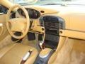 Savanna Beige Dashboard Photo for 1999 Porsche 911 #66704951