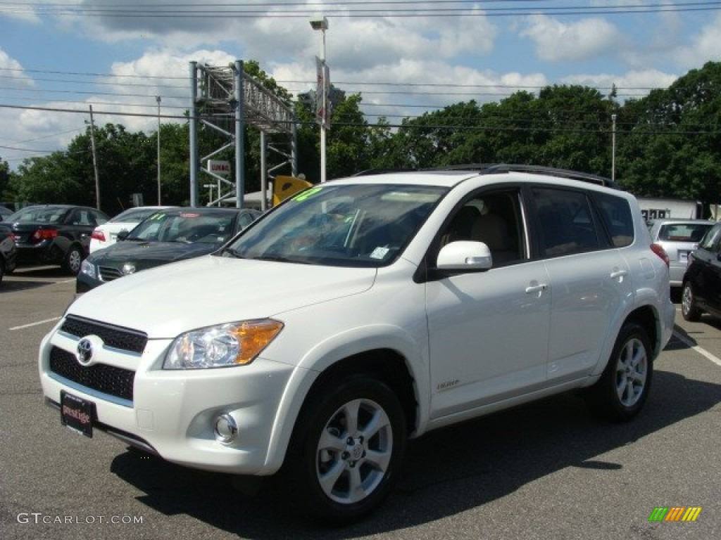 2012 blizzard white pearl toyota rav4 limited 4wd. Black Bedroom Furniture Sets. Home Design Ideas