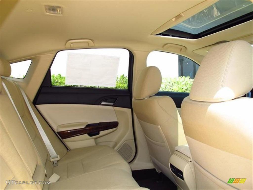 Ivory Interior 2012 Honda Accord Crosstour Ex Photo
