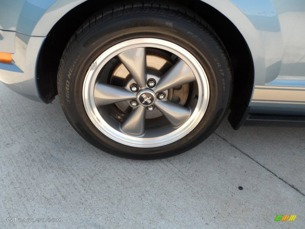 2006 Ford Mustang V6 Premium Coupe Wheel Photo #66712157