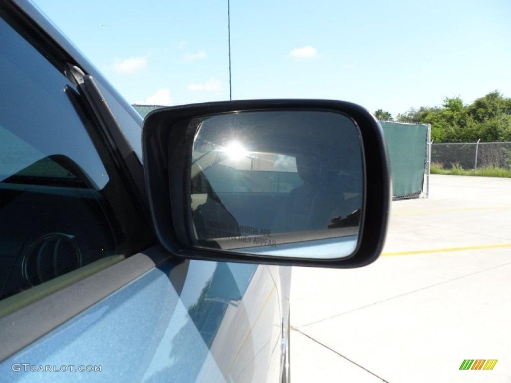 2006 Mustang V6 Premium Coupe - Windveil Blue Metallic / Light Parchment photo #18