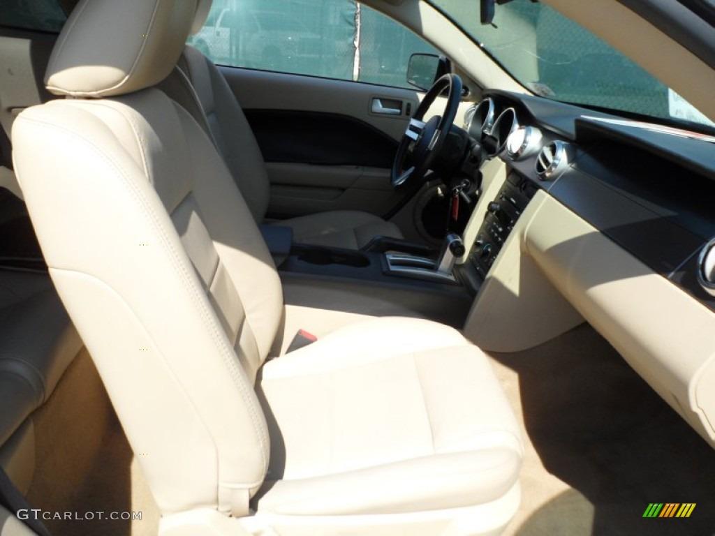 2006 Mustang V6 Premium Coupe - Windveil Blue Metallic / Light Parchment photo #27