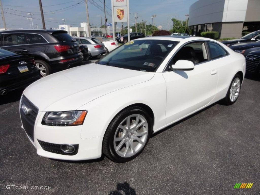 ibis white 2012 audi a5 2 0t quattro coupe exterior photo 66716279. Black Bedroom Furniture Sets. Home Design Ideas