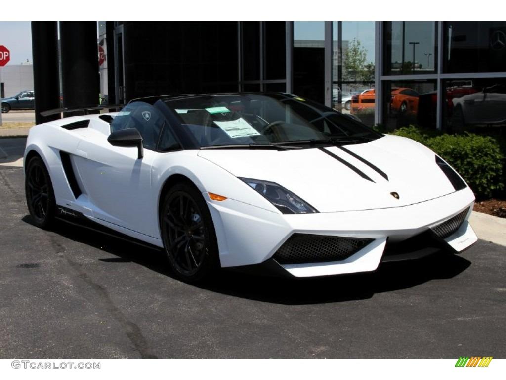 Bianco Monocerus 2012 Lamborghini Gallardo LP 570 4 Spyder Performante  Exterior Photo #66718212