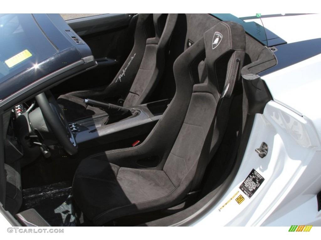 Black Alcantara Interior 2012 Lamborghini Gallardo Lp 570 4 Spyder