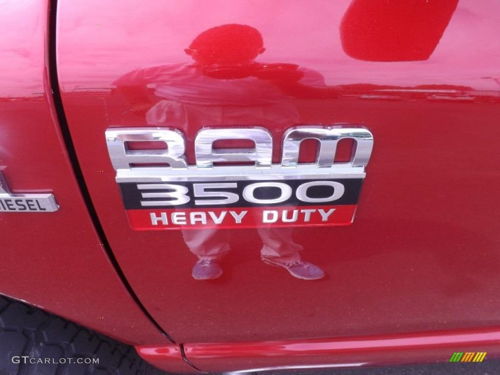 2008 Dodge Ram 3500 SLT Mega Cab 4x4 Dually Marks and Logos Photo #66720869