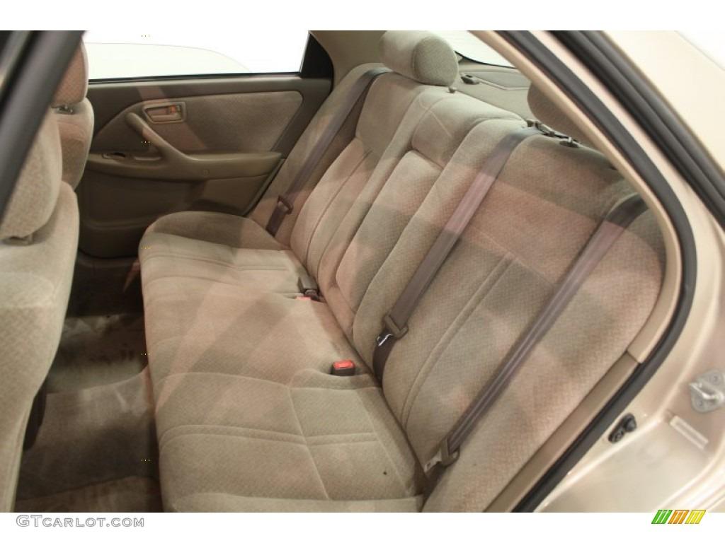 2000 Toyota Camry LE Interior Color Photos
