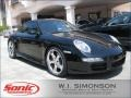 Black 2005 Porsche 911 Carrera S Coupe