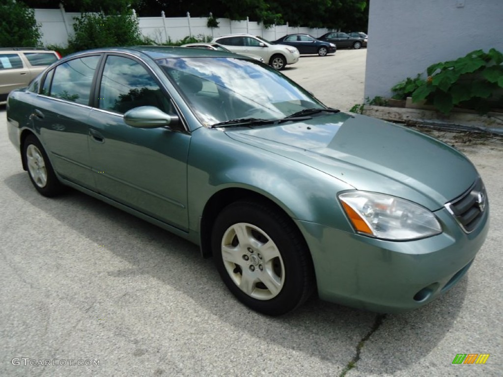 mystic emerald metallic 2004 nissan altima 2 5 s exterior. Black Bedroom Furniture Sets. Home Design Ideas