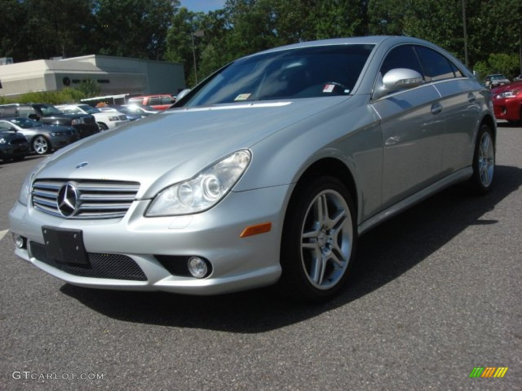 Iridium Silver Metallic 2006 Mercedes Benz Cls 500