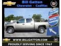 2012 Graystone Metallic Chevrolet Silverado 1500 LS Crew Cab  photo #1